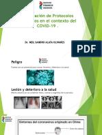 PRESENTACIÓN Elaboración de Protocolos Sanitarios en el contexto del COVID-19 - DR. NEIL ALATA OLIVARES (4)
