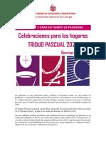 CELEBRAR Y ORAR EN TIEMPO DE PANDEMIA - Domingo de Pascua.pdf
