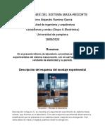 DETERMINACION DE LA GRAVEDAD POR OSCILACIONES DEL PENDULO SIMPLE