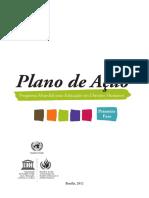 Plano de Ação Mundial - PMEDH - 1a etapa