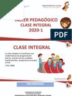 CLASE INTEGRAL LCGL