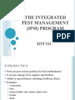 THE INTEGRATED PEST MANAGEMENT (IPM) PROGRAM
