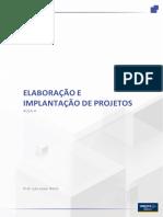 Elaboração e implantação de projeto - Aula4