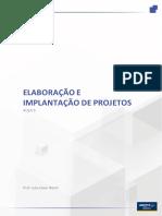 Elaboração e implantação de projeto - Aula6