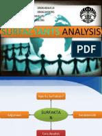 analisis surfaktan