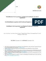 Rehabilitacion Oral En Pacientes Con Displasia Ectodermica