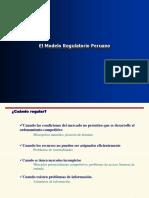 modelo regulatorio peruano
