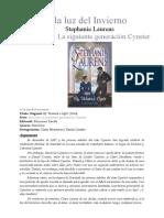 00 La Siguiente Generacion  Cynster - Bajo Las Luces Del Invierno -Stephanie Laurens