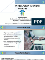 4. Pencatatan Pelaporan Imunisasi COVID-19