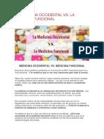 LA MEDICINA OCCIDENTAL VS. LA MEDICINA FUNCIONAL.pdf
