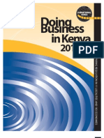 Entreprenuership - doing business in Kenya