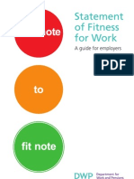 Fit Note