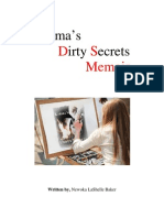 Karma's Dirty Secrets Memoir