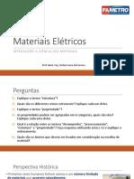 Aula 1 - Ciência dos materiais (1)