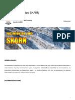 Yacimientos de tipo SKARN - Comunidad Geopersa