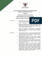 PMK 492 Tahun 2010 - Persyaratan Kualitas Air Minum