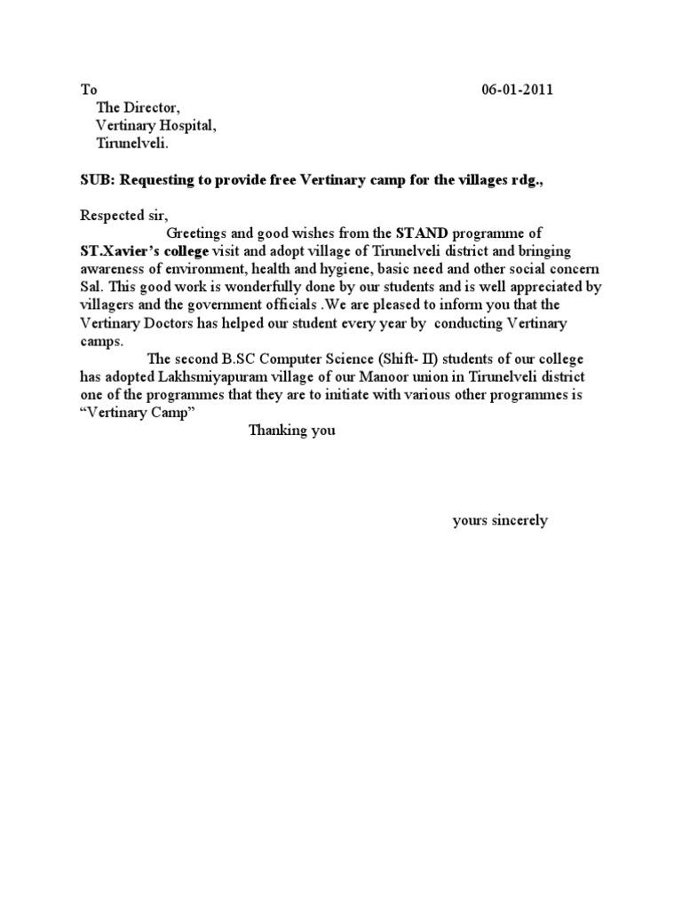 Permission letter stopboris Choice Image