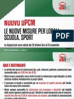 Schede Ali Nuovo Dpcm 24 Ottobre