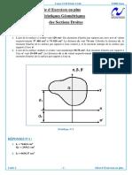 Série d'Exercices - Caractéristiques Géométriques des Sections.pdf