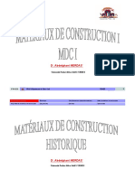 Materiaux de construction 1-Chap1