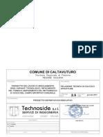 2.5 Relazione Tecnica Di Calcolo
