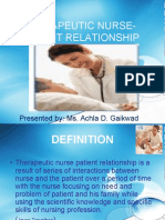 THERAPEUTIC  nurse patient RELATIONSHIP.ppt