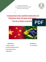 Comparaison des systèmes bancaires et financiers