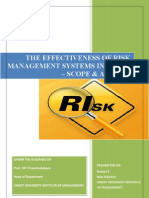 Dissertation Main - Risk Management in Banks