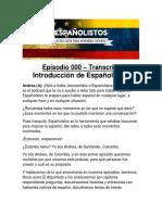 Podcast Transcript Introduction