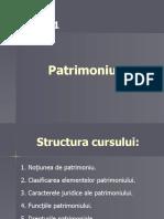 curs 1 - Patrimoniul