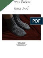 Emma_Socks_pdf knitting pattern