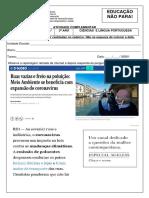 3º-ANO-LEITURA-E-INTERPRETAÇÃO-DE-REPORTAGEM-MEIO-AMBIENTE-PANDEMIA-DO-CORONAVÍRUS