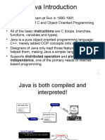 Java Introduction (Part I)