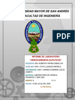 INFORME HIDROCARBUROS ALIFATICOS (CHAMACO MAMANI LESLIE LISBETH)