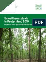 Umweltbewusstsein2010