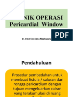 2.5 Pericardial Window intan.pptx