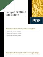 Banque centrale tunisienne