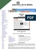 36 Sofonías - Estudio Inductivo de la Biblia