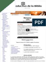 39 Malaquías - Estudio Inductivo de la Biblia