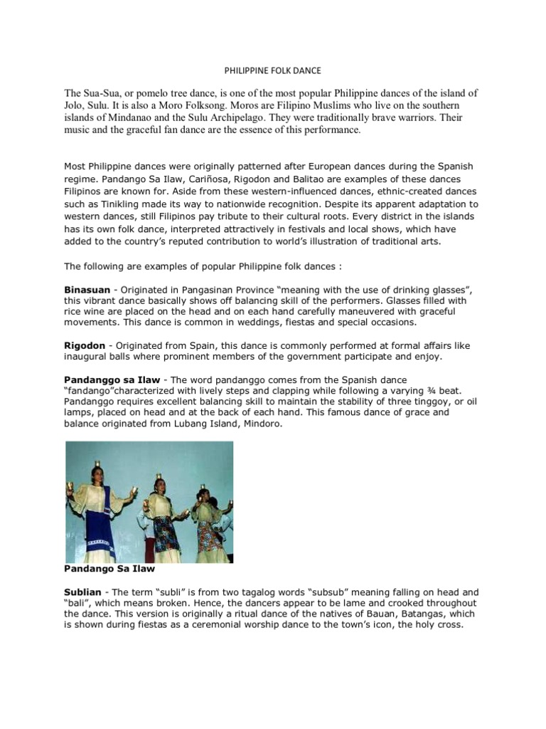 dance literature of pandanggo oasiwas