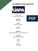 TAREA 3 DERECHOS ADMINISTRATIVOS -HECHA