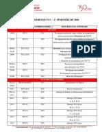 CALENDÁRIO DE TCC – 2° SEMESTRE DE 2020
