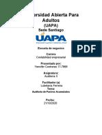 Ultima tarea de Auditoria II.docx