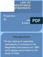 Definition of Negotiable Instrument1