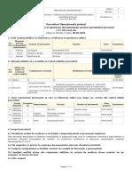 Selectarea, verificarea și păstrarea documentelor pentru portofoliul personal
