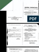 P7-92 - Teren de fundare - Proiectarea, executia si exploatarea ctiilor fundate pe pamanturi ssensibile la umezire