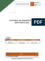 QG-SIG-PR-001 Control de Información Documentada