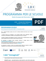 Workshop Scuole MMT LIUC 2020