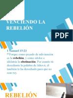 venciendo la rebeldia