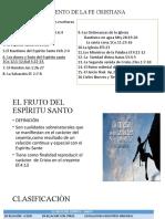 FUNDAMENTO DE LA FE CRISTIANA Nª1ª